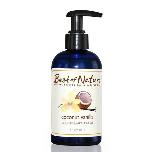 Coconut Vanilla Aromatherapy Body Oil