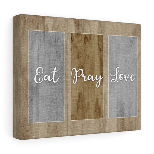 Canvas Wall Art: Eat Pray Love