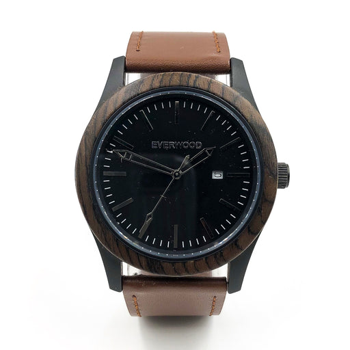 Inverness | Walnut | Brown Leather Watch