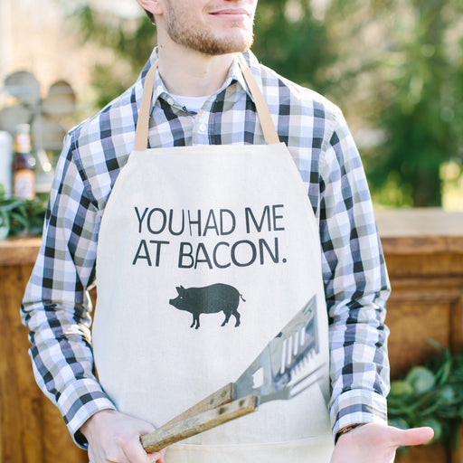 You Had Me At Bacon Men's Apron