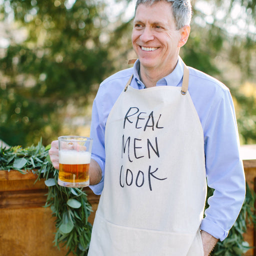 Real Men Cook (Men's Apron)
