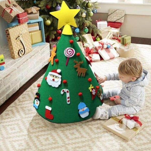 Kids DIY 3D Christmas Tree