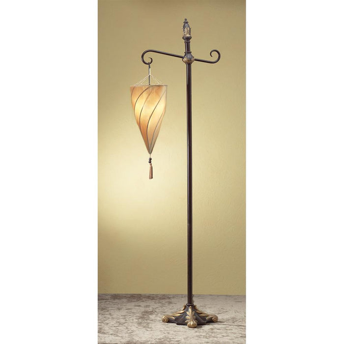 the latest db1d5 52f3c Spiral Hanging Floor Lamp