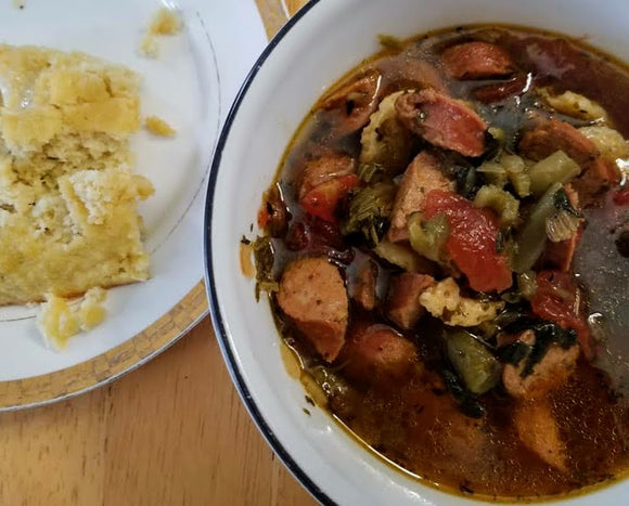 KETO MINESTRONE SOUP MIX