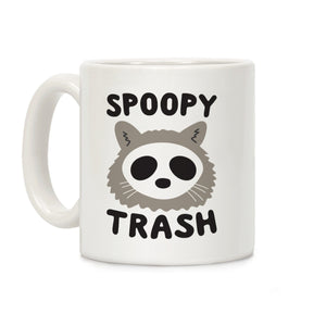 coffee,mug,spoopy,trash,gift,lookhuman