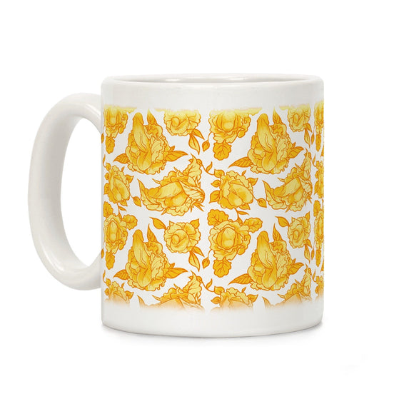 coffee,mug,gift,penis,floral,lookhuman