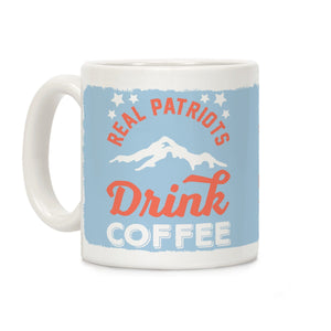 mug,coffee,republican,patriot,conservative,military,LEO,firefighter,second amendment,constitution,armed forces,flag,