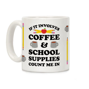 teacher,coffee,mug,involves,school,supplies,count,ceramic,cup