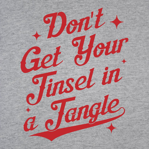 Christmas,don't,get,your,tinsel,tangle,tee,shirt,t-shirt,tshirt,unisex,donkey,tees