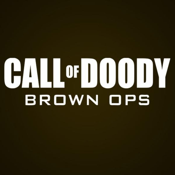call,duty,doody,brown,ops,toddler,tee,shirt,t-shirt,tshirt,unisex,donkey,tees