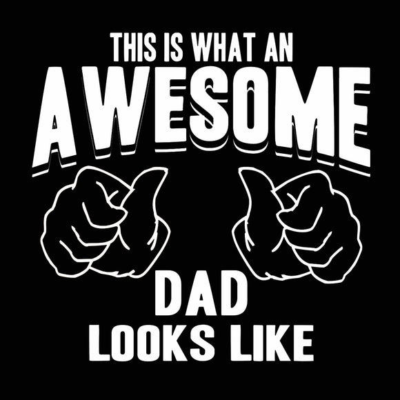 this,what,awesome,dad,looks,like,tee,shirt,t-shirt,unisex,donkey,tees