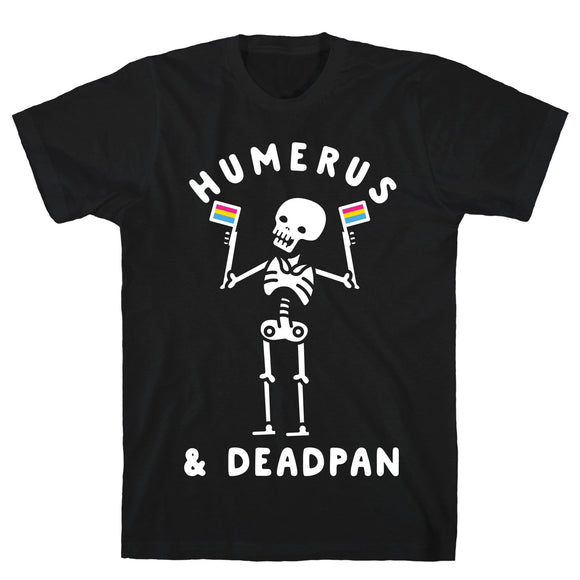 Halloween,tee,shirt,t-shirt,skeleton,humerus,deadpan