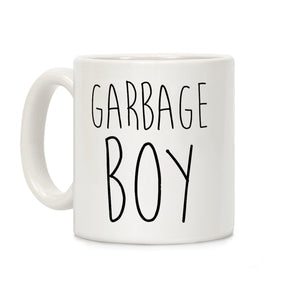 garbage boy,coffee,cup,mug,gift,lookhuman