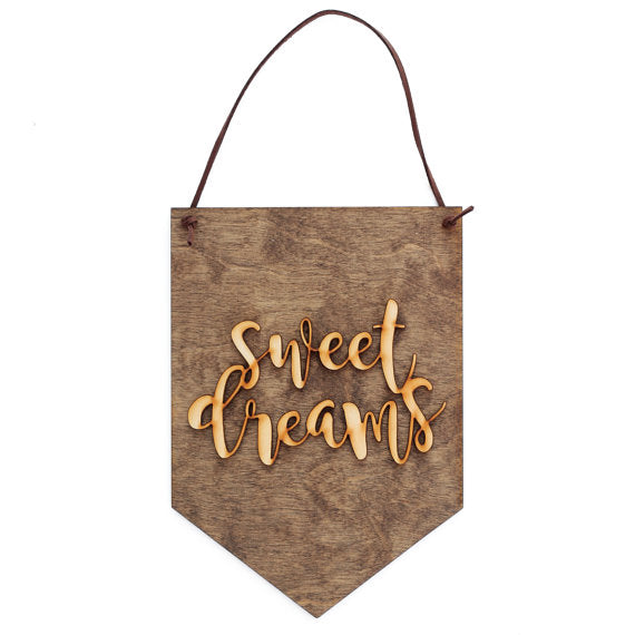 sweet dreams,sign,banner,home decor,woodwork
