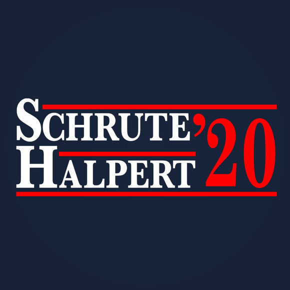 schrute,halpert,2020,election,office,tee,shirt,t-shirt,tshirt,womens,slim,fit,donkey,tees