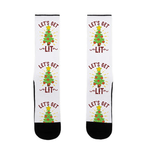socks,gift,Christmas,lit,holidays,lookhuman
