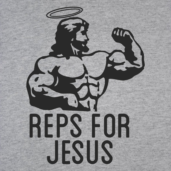 reps,for,jesus,gym,workout,fitness,tee,shirt,t-shirt,tshirt,womens,slim,fit,unisex,donkey,tees