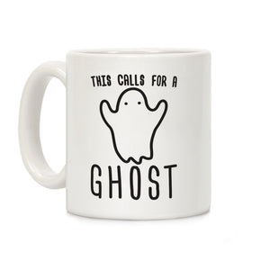Halloween,coffee,mug,this,call,for,ghost,cup