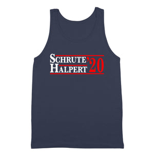 schrute,halpert,2020,election,office,tank,top,unisex,donkey,tees