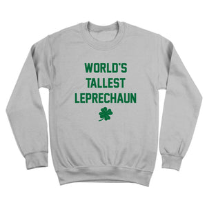 st,patricks,day,worlds,tallest,leprechaun,sweatshirt,crewneck,donkey,tees,unisex