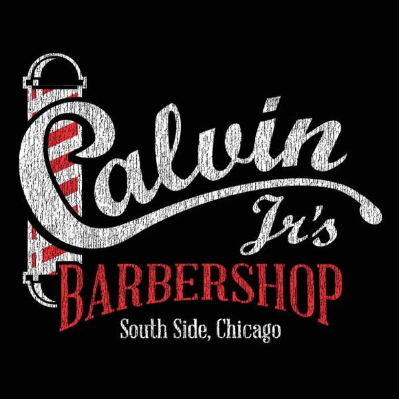 barbershop,calvin,jr's,south,side,chicago,tee,shirt,t-shirt,unisex,ice cube,donkey,tees