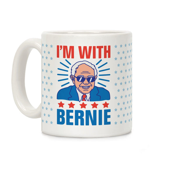with,bernie,sanders,coffee,mug,cup,ceramic,election,2020