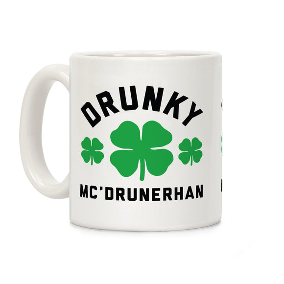 drunky,mc,drunkheran,coffee,mug,irish,st,patrick's,day,cup,ceramic