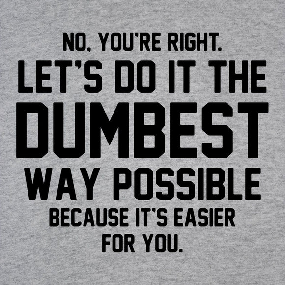 right,let's,dumbest,way,possible,raglan,shirt,unisex