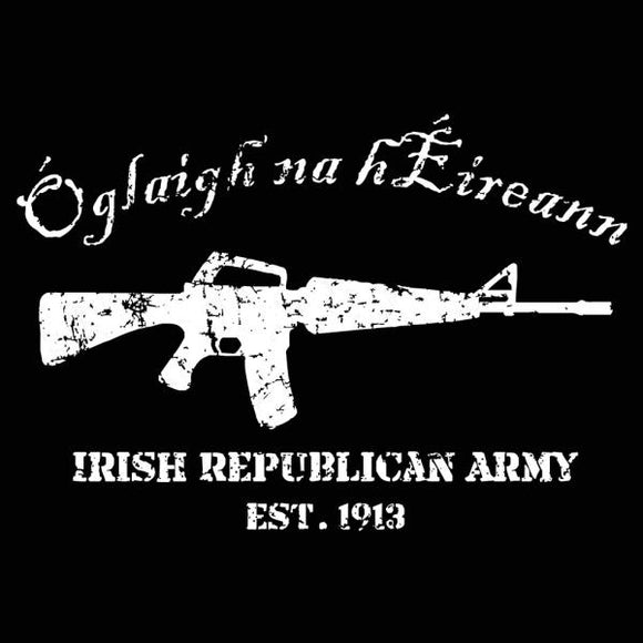 irish,republican,army,est,1913,tee,shirt,t-shirt,tshirt,womens,slim,fit,donkey,tees