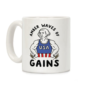 mug,coffee,republican,George Washington,conservative,military,leo,firefighter,patriotic,constitution,armed forces,flag
