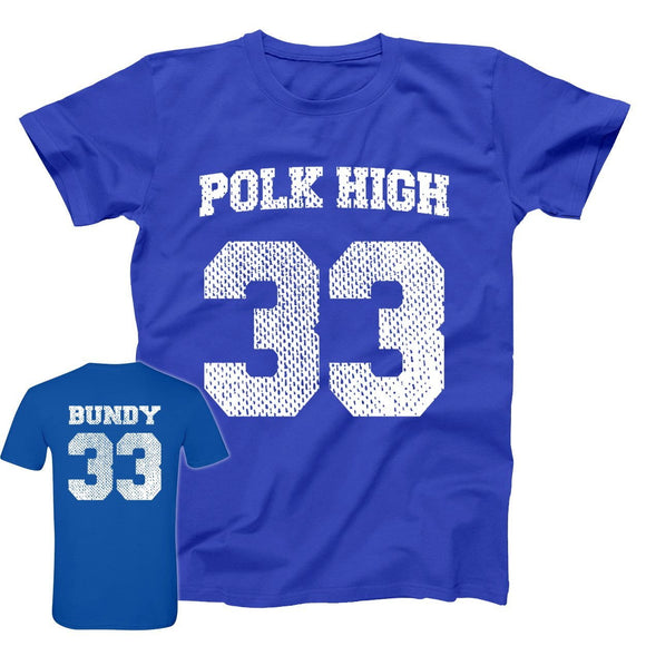 al,bundy,polk,high,jersey,tee,shirt,t-shirt,men's,married,with,children