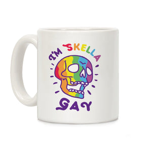 i'm,skella,gay,Halloween,coffee,mug,cup,gift