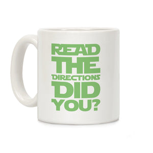 coffee,mug,gift,read,directions,lookhuman