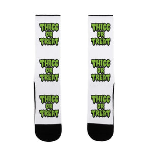 Thicc Or Treat US Size 7-13 Socks
