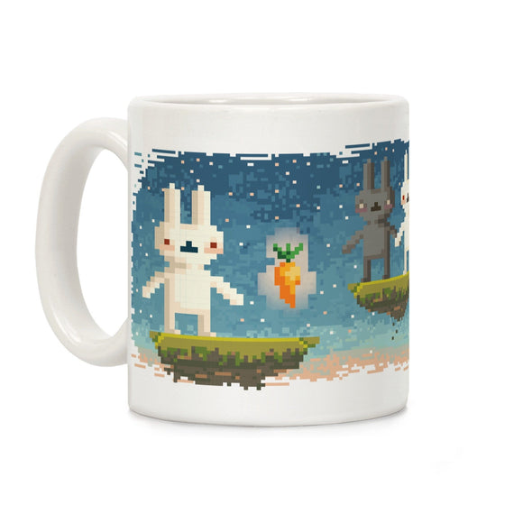 bunny,pixel,coffee,mug,cup,ceramic