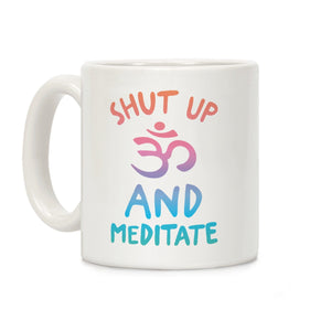 coffee,mug,gift,cup,shut,up,yoga,lookhuman