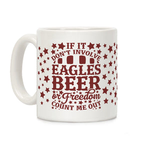 mug,coffee,republican,beer,eagle,freedom,patriotic,conservative,military,LEO,firefighter,second amendment,constitution,armed forces,flag