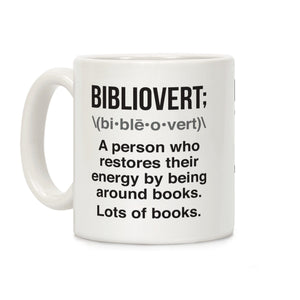 bibliovert,definition,coffee,mug,cup,gift