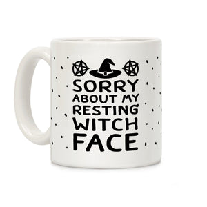 coffee,mug,witch,face,Halloween,lookhuman