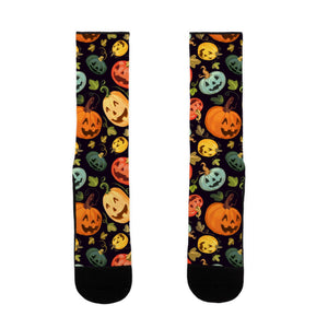 socks,gift,Autumn,pumpkin,Halloween,lookhuman