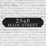 customized,address,sign,steel,home decor,