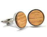 bourbon,barrel,wood,cufflinks,cuff,links,handmade,autumn,summer