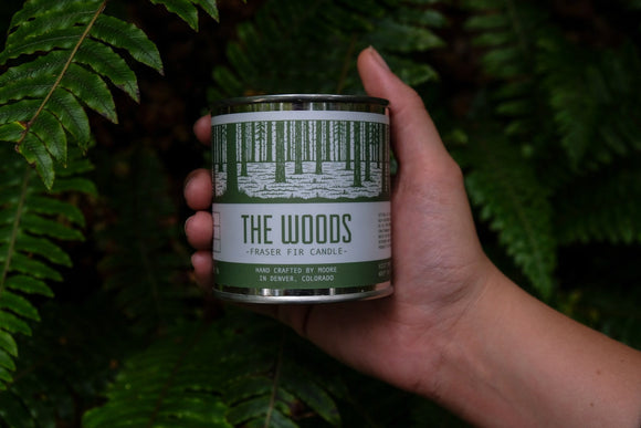 woods,soy,natural,candle,scented,Fraser,Fir,pine,tree