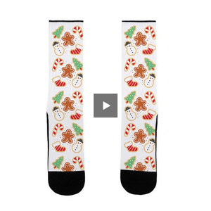socks,gifts,Christmas,funny,cookie,holidays,lookhuman