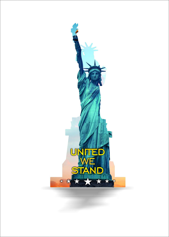 statue,liberty,steel,metal,wall,decor,art,home,patriotic,united,we,stand