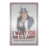 uncle,sam,want,you,USA,army,patriotic,metal,decor,art,steel,home,handmade,handcrafted,