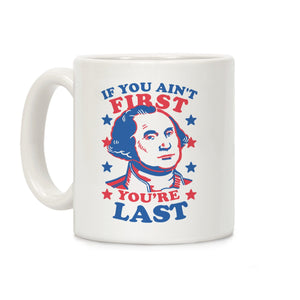 mug,coffee,republican,president,patriotic,George Washington,conservative,military,leo,firefighter,second amendment,constitution,armed forces,flag