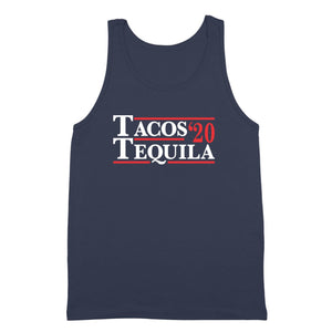 tacos,tequila,2020,election,tank shirt,top,unisex,donkey tees