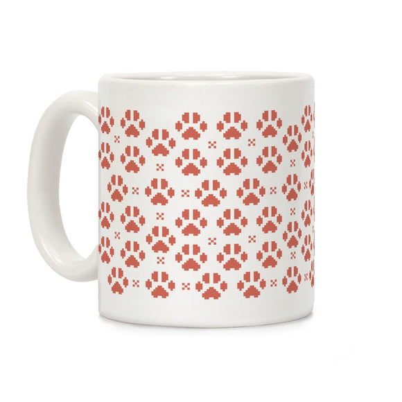 coffee,mug,gift,pixel,kitty,paws,cat,kitten,lookhuman