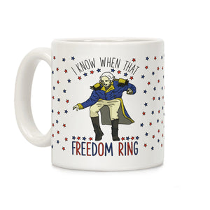 george,washington,freedom,ring,coffee,mug,cup,ceramic